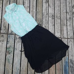 3 for $50🌾 Sleeveless Minty high low dress